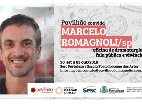 Pavilhão convida: Marcelo Romagnoli/SP