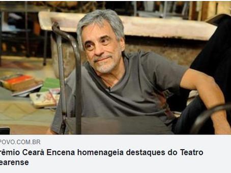 Saiu na mídia - Prêmio Ceará Encena