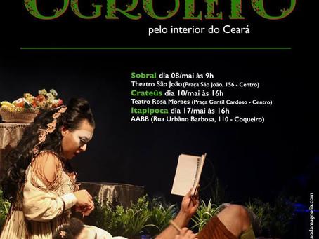 Circulação A Fantástica Viagem de Ogroleto pelo interior do Ceará - 1ª etapa