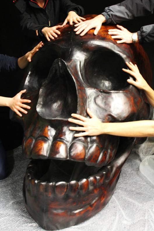 Bronze Skull