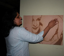 Emily Davison with Unity portrait
