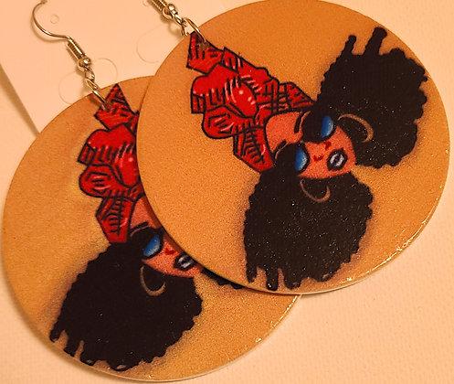 Neo Soul Queen Earrings