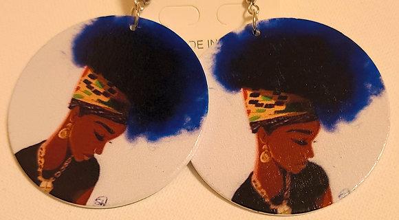 GivingThe Blues Earrings
