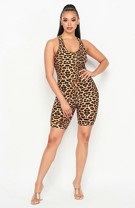 Roar Me Down Romper