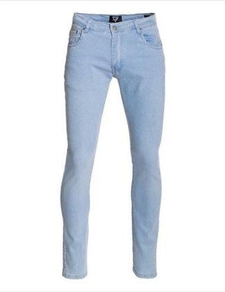 Light Wash Denim Skinny Jeans