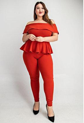 Orange You Sassy Jumpsuit