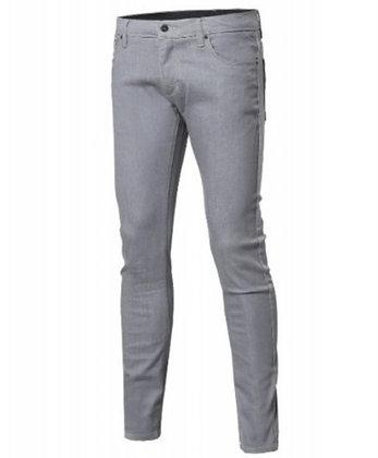 Gray Denim Skinny Jeans
