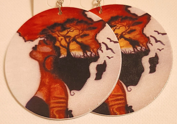 Africa In My Roots Earrings