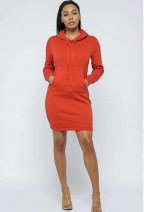 Oversize Hoodie Dress