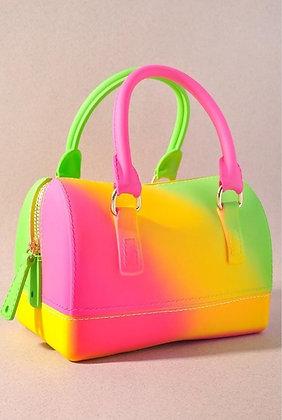 Lime Green Starburst Mini Handbag