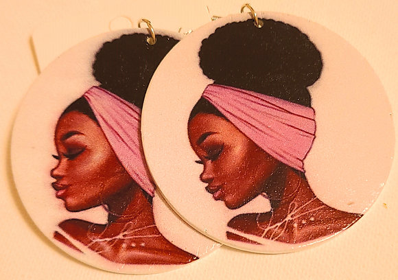 Sista Im Here Earrings