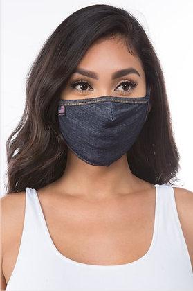 Everyday Denim Mask (with filter pocket)