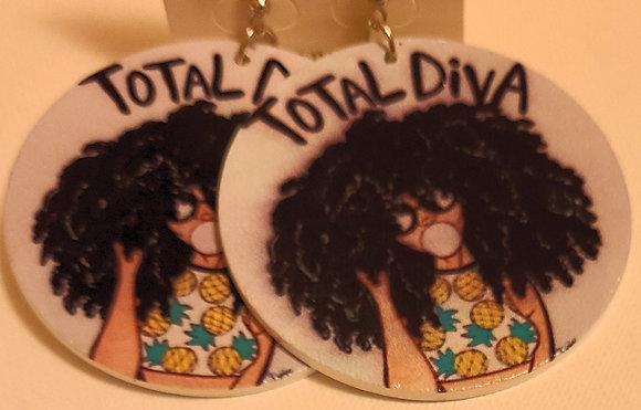Total Diva Earrings