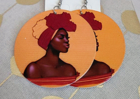 Tip of Africa Earrings