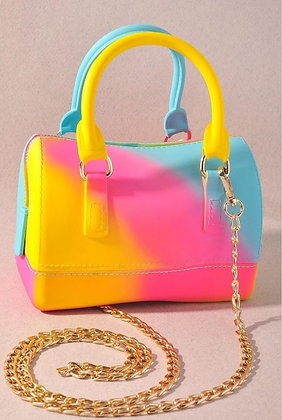Yellow Starburst Mini Handbag