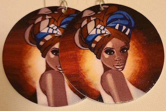 Brown Skin Earrings