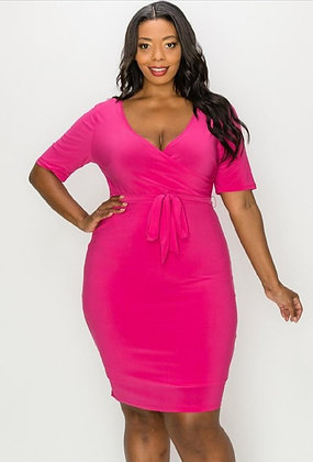 Fuchsia Playful Dress