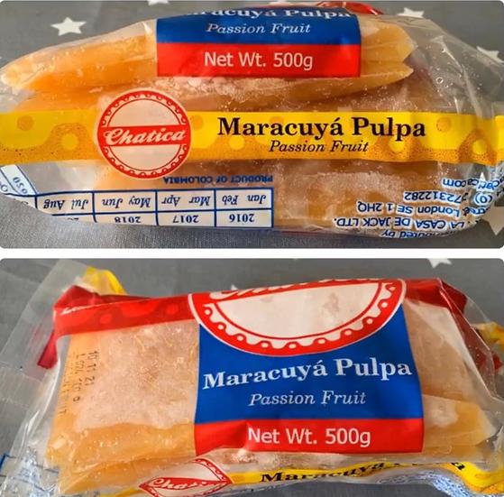 Passion Fruit Concentrate | Pulpa de Maracuya