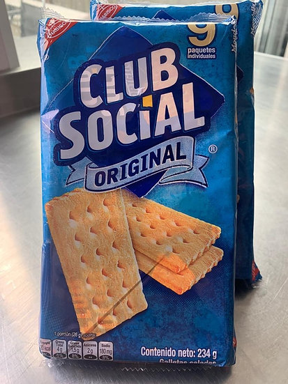 Club Social crackers (9 pack)| Galletas club Social (pack de 9)