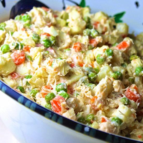 Ensalada de Gallina | Chicken Salad