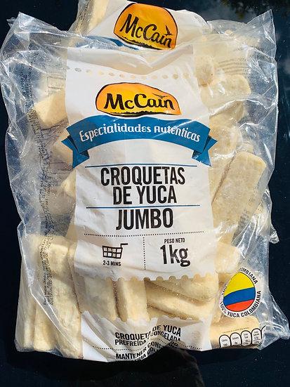 Croquetas de Yuca Jumbo 1kg