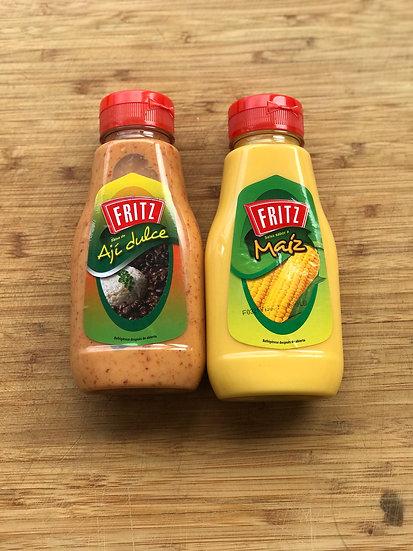 Fritz Sauces Corn or Aji (per unit) | Salsas Fritz Maiz o Aji (por unidad)