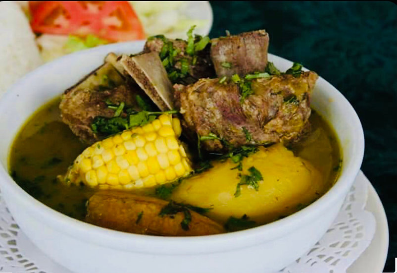 Beef rib soup / Sopa de Costillas ( 600ml - 750  )