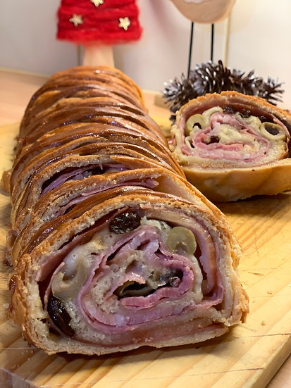 Pan de Jamón | Christmas Ham Bread
