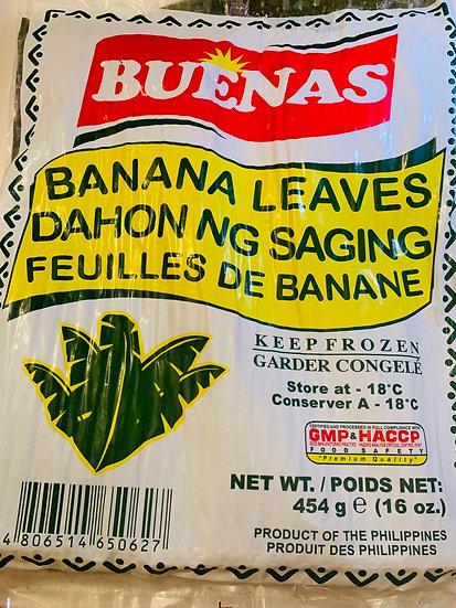Banana Leaves 430gr | Hojas de Plátano 430gr