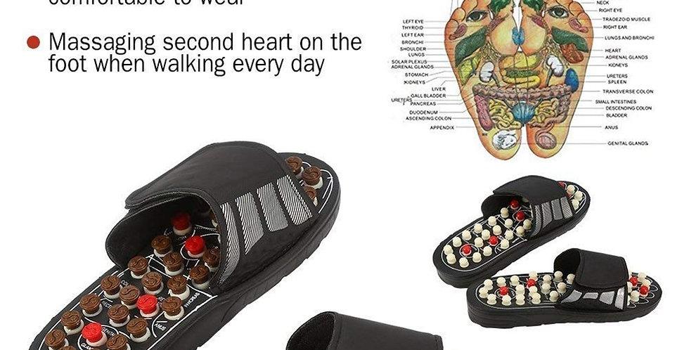 Unisex Massage Slippers Sandal for  Health Foot Care Adjustable Slippers