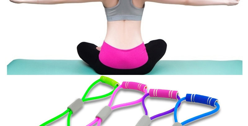 Hot Yoga Gum Fitness Resistance Band