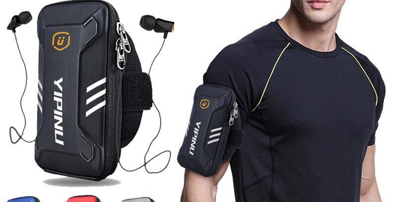 Men Women Waterproof Reflective Fitness Running Case Arm Bag