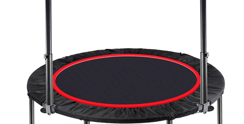 40/48 Inch Indoor Trampoline With Handrail Gym Exercise Fitness Adult