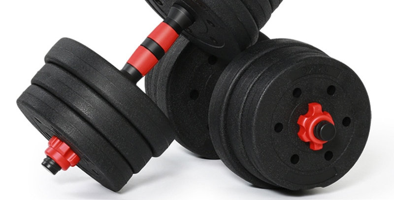 15 KG Adjustable Dumbbell Weight Set Weights