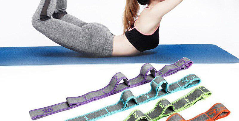 Professional Gymnastics Adult Training Bands for Pilates / Yoga