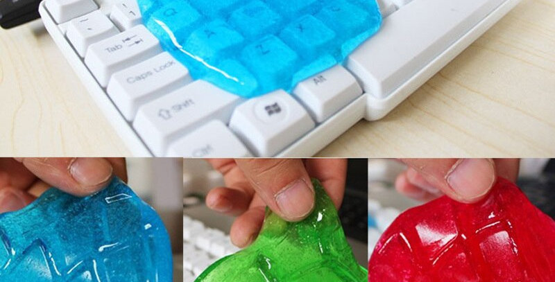 Super Dust & Dirt Removal Cleaner Gel for Keyboard, Car Interior, Home, Office