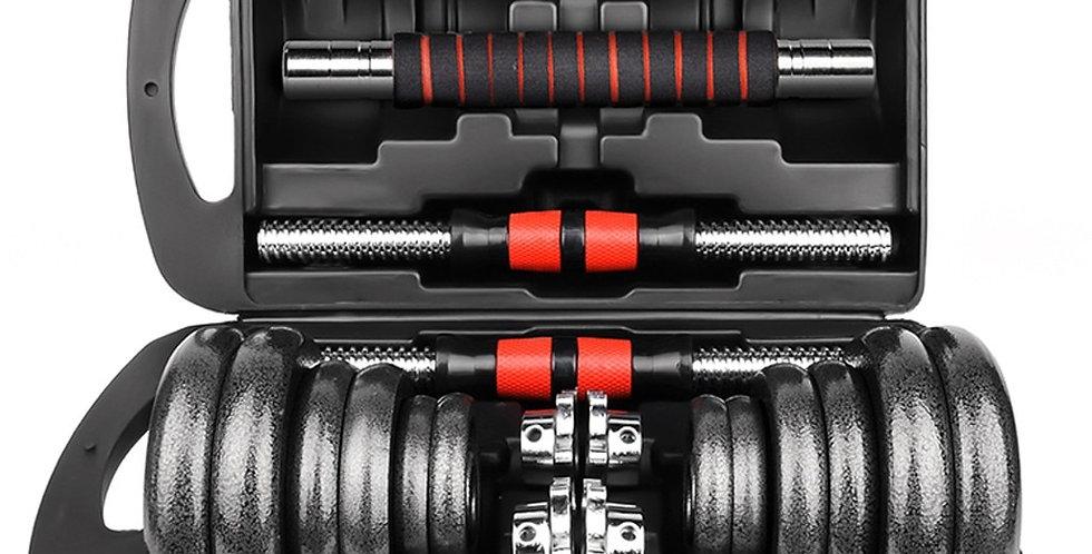 30kg/66lb Adjustable Weights Dumbbells Set