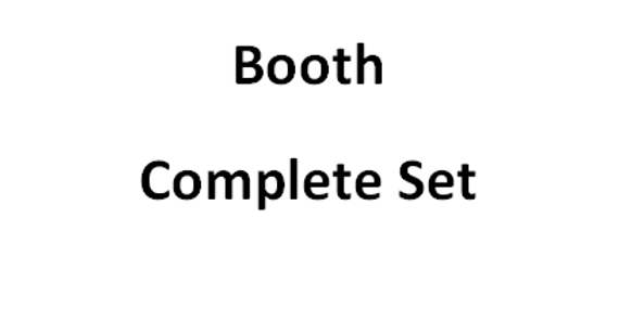 Complete Booth Set