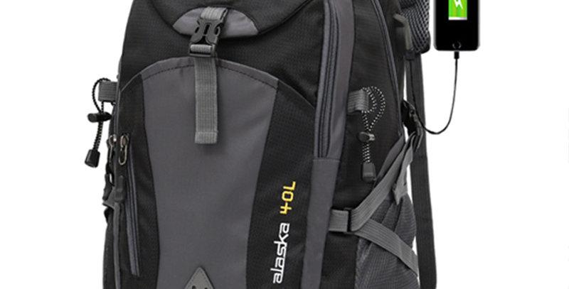 40L Unisex Waterproof Men Backpack Travel Sports Bag