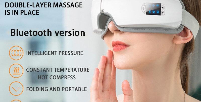 4D Smart Airbag Vibration Eye Massager