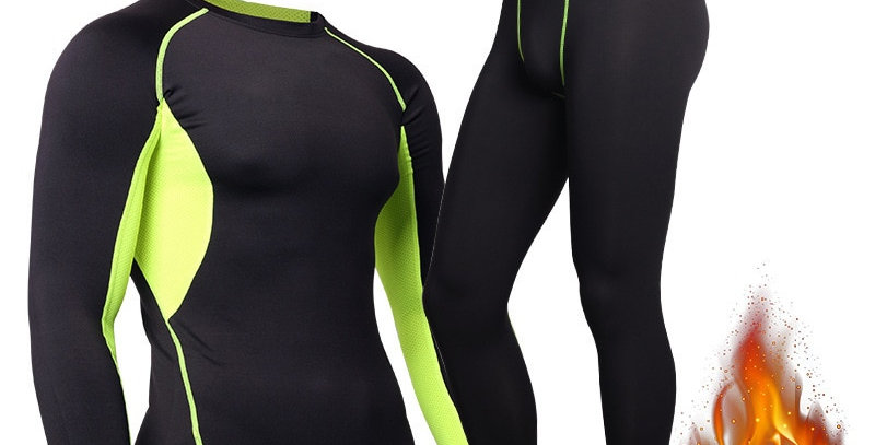 Winter Thermal Underwear Men's