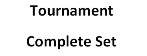 Complete Tournament Set