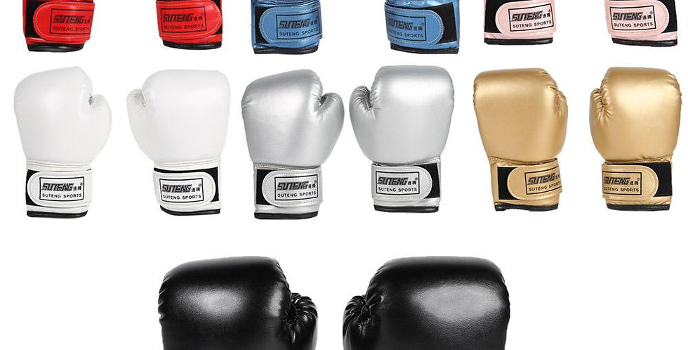 2pcs Boxing Training  Gloves PU Leather - Kids size