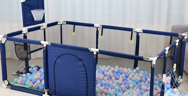 IMBABY Kids Furniture Playpen for Children Dry Ball Park for 0-6 Years