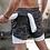 Thumbnail: Double Layer Jogger Shorts Men