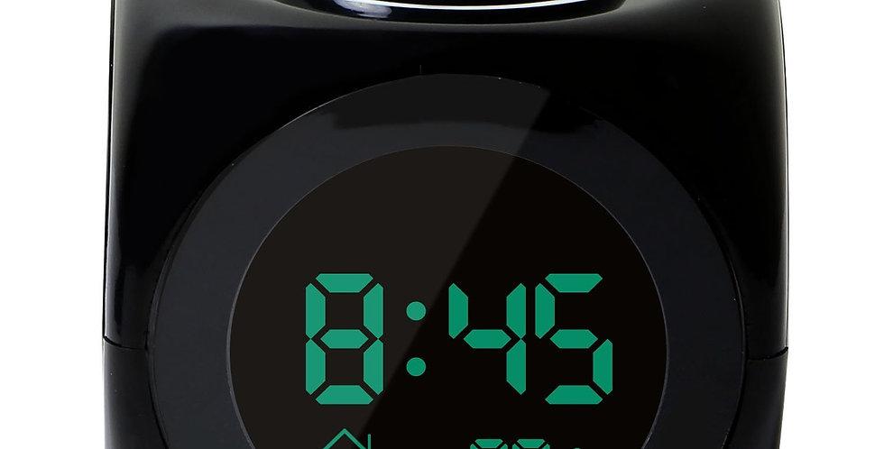 Digital LCD Projector Alarm Clock Voice LED Temperature Multifunctional