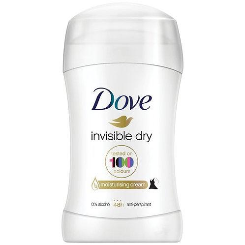 Dove Deodorant Invisible Dry Stick 30 ml
