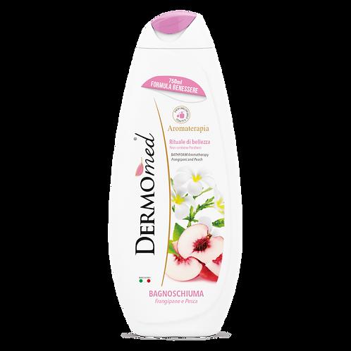 Gel de Duș Dermomed cu Frangipani și Piersică Albă 250 ml