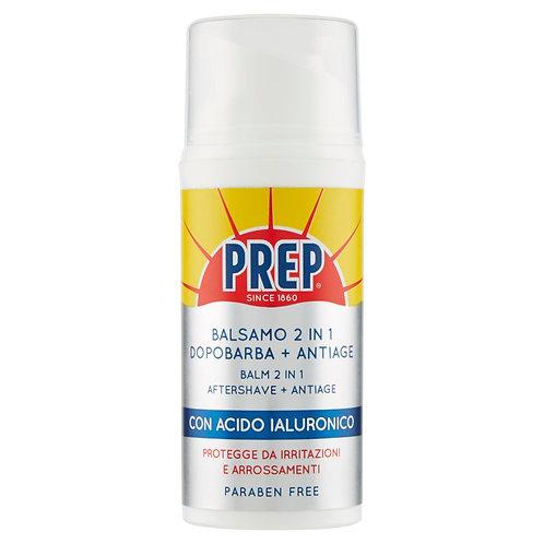 Prep Balsam 2 in 1 Dupa barba + Antiage con Acido Ialuronico 80 ml