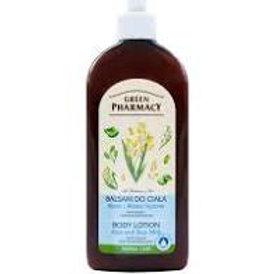 "Green Pharmacy Loțiune de corp ""Aloe și lapte de orez"" - Green Pharmacy 500 ml"